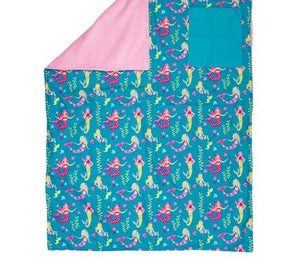 Stephen Joseph All Over Print Blanket - Mermaid
