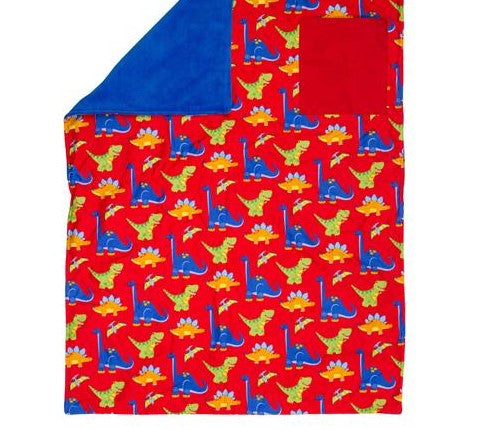 Stephen Joseph All Over Print Blanket - Dino