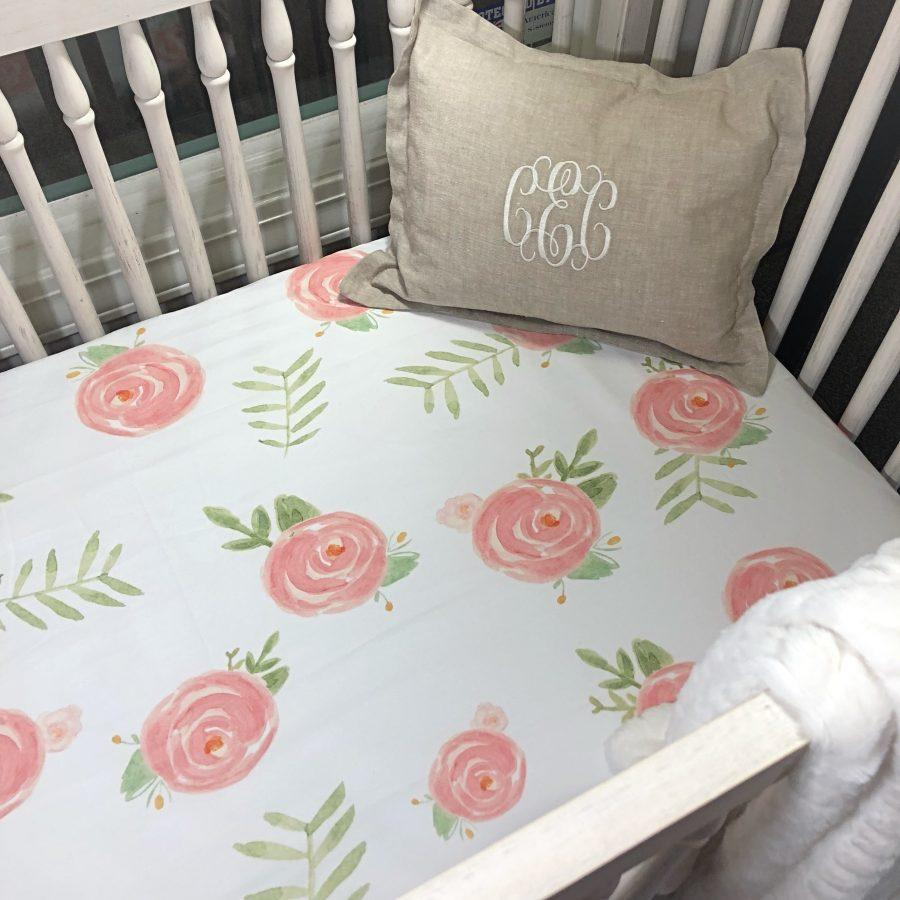 "Sissy & Sawyer""Penelope"" Crib Sheet"