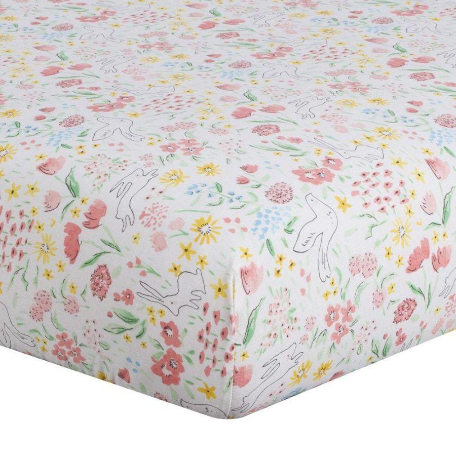 "Sissy & Sawyer ""Clara"" (Multi) Crib Sheet"
