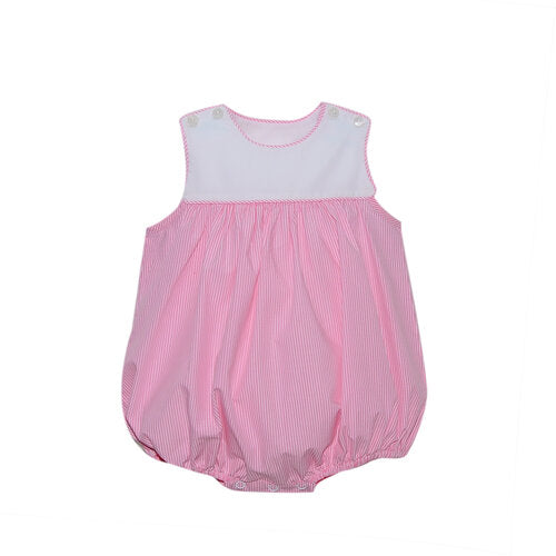 Lullaby Set Taylor Pink Stripe Bubble
