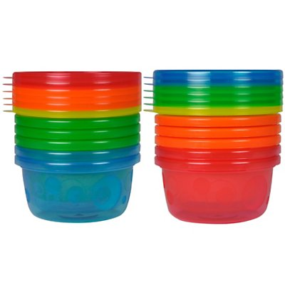 The First Years Take & Toss Toddler Bowls 6 Pack