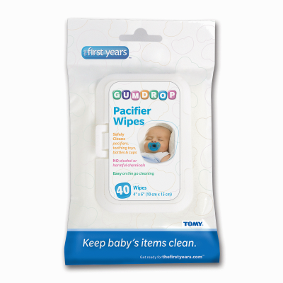 The First Years Pacifier Wipes 40 CT