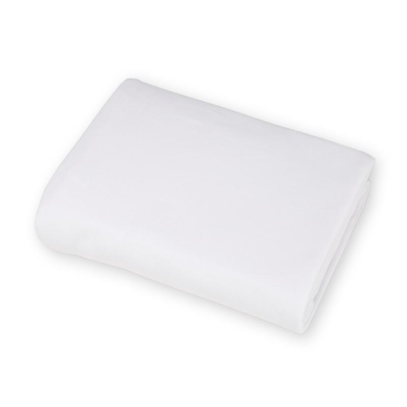 Brixy Supreme Jersey Crib Sheet- White
