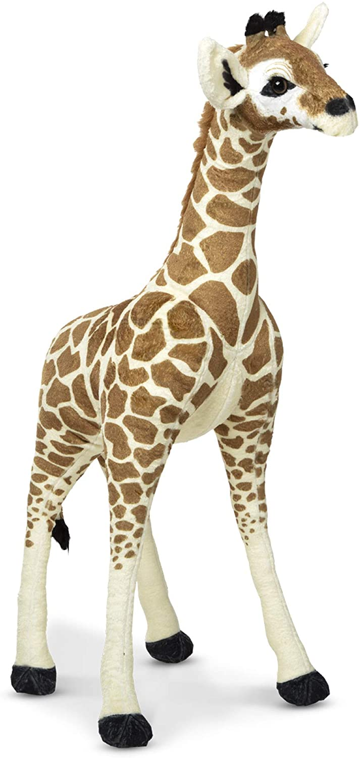 Melissa & Doug Large Standing Baby Giraffe Stuffed Animal