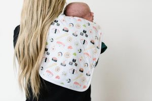 Copper Pearl Premium Burp Cloth Set - Baja