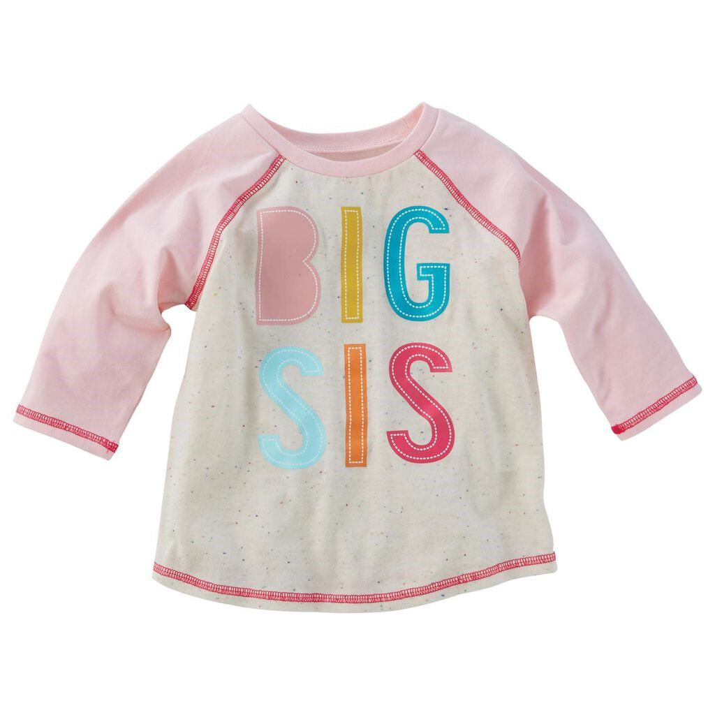 "Mud Pie ""Big Sis"" Shirt and Pennant"