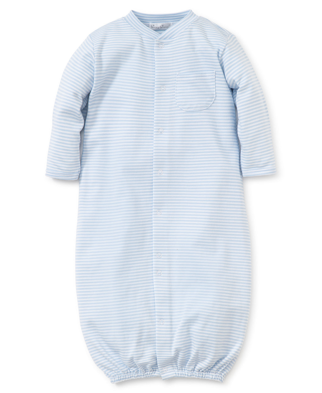 Kissy Kissy Boy's Stripes Convertible Gown