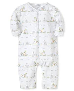 Kissy Kissy Boy's Noah's Print Playsuit
