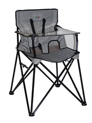 Ciao! Baby Portable High Chair - Grey Check