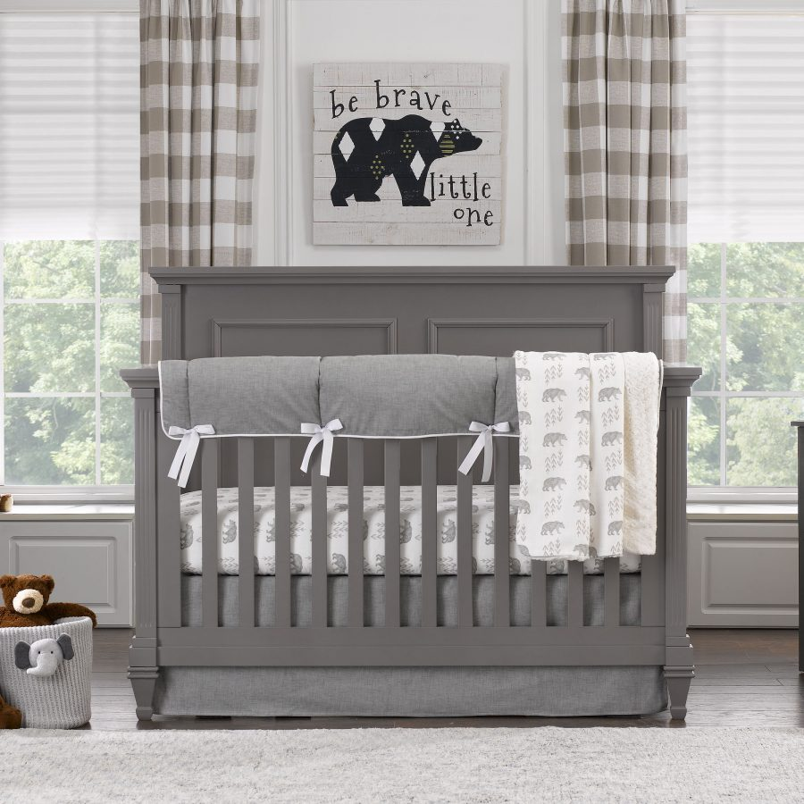 "Sissy & Sawyer ""Emmett"" Crib Bedding 4-pc. Set"