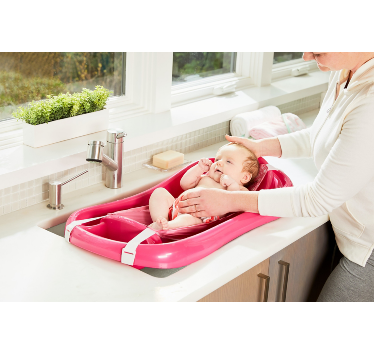 The First Years Sure Comfort Deluxe Newborn to Toddler Tub with Sling