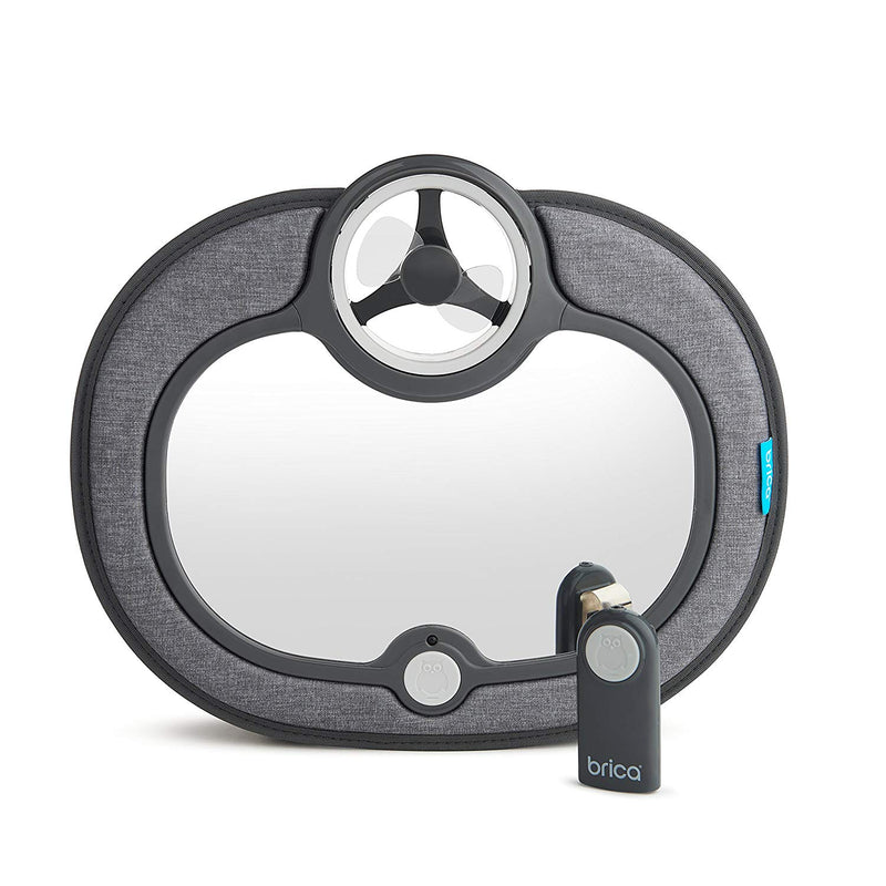 Brica Breeze In-Sight Fan Car Mirror