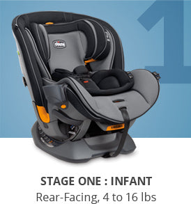 Chicco Fit4 4-in-1 Convertible Car Seat