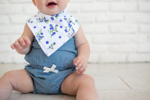 Copper Pearl Baby Bandana Bib Set - Georgia