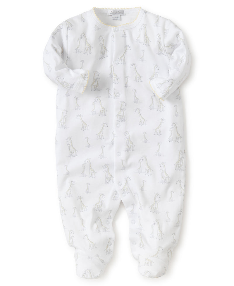 Kissy Kissy Giraffe Generations Footie