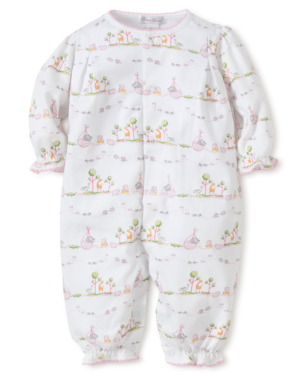 Kissy Kissy Girl's Noah's Print Playsuit