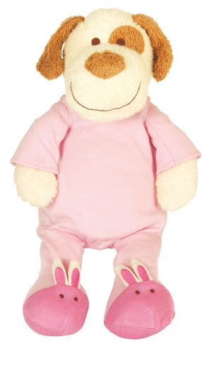 Manhattan Toy Company Blooming Sprouts Doggy in Pink