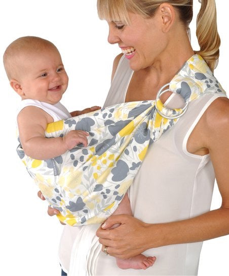 Balboa Baby Adjustable Sling- Yellow Tulip