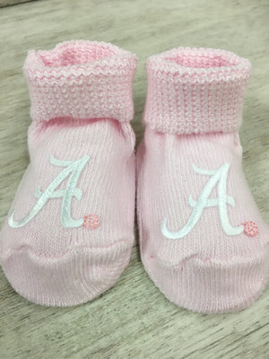 Creative Knitwear Alabama Giftbox Bootie - Pink