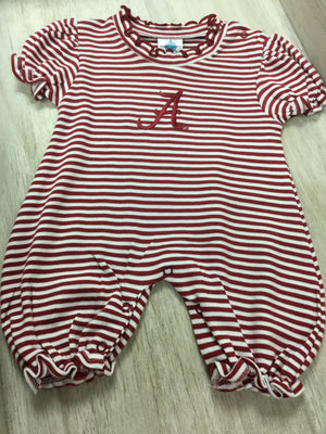 Creative Knitwear Alabama Puff Sleeve Romper