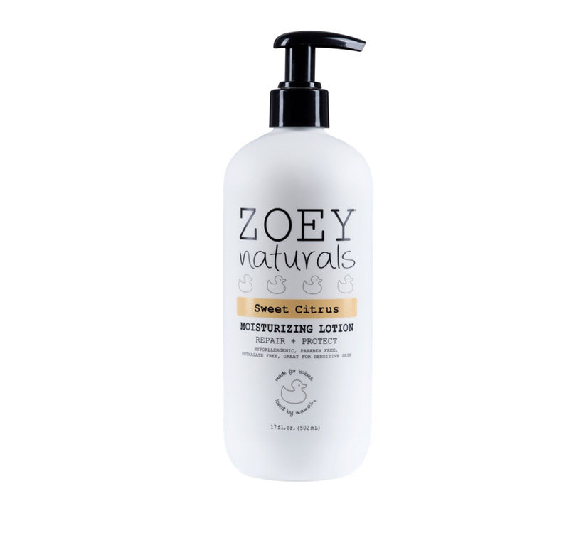 Zoey Naturals Moisturizing Lotion - Sweet Citrus