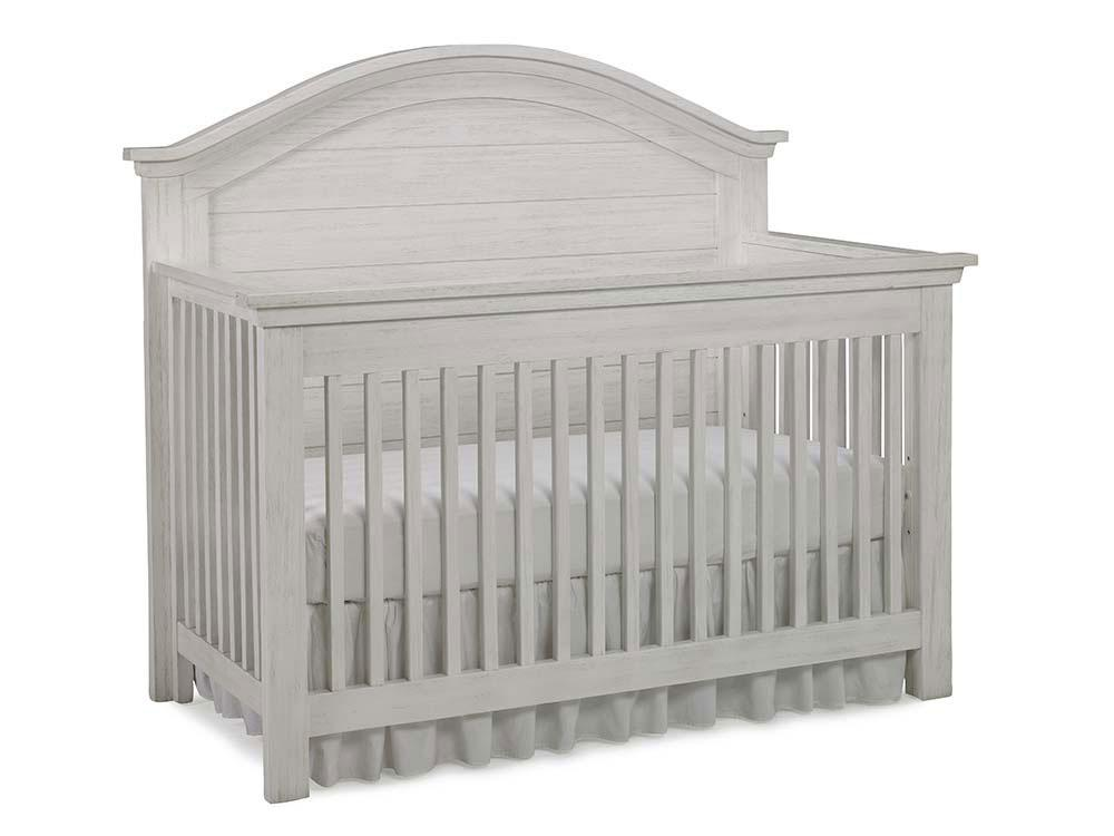 Dolce Babi Lucca Convertible Curve Top Crib Package