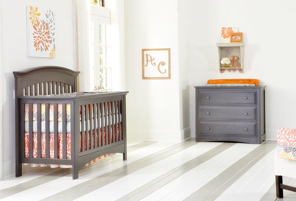 Baby's Dream Magnolia Crib- Slate