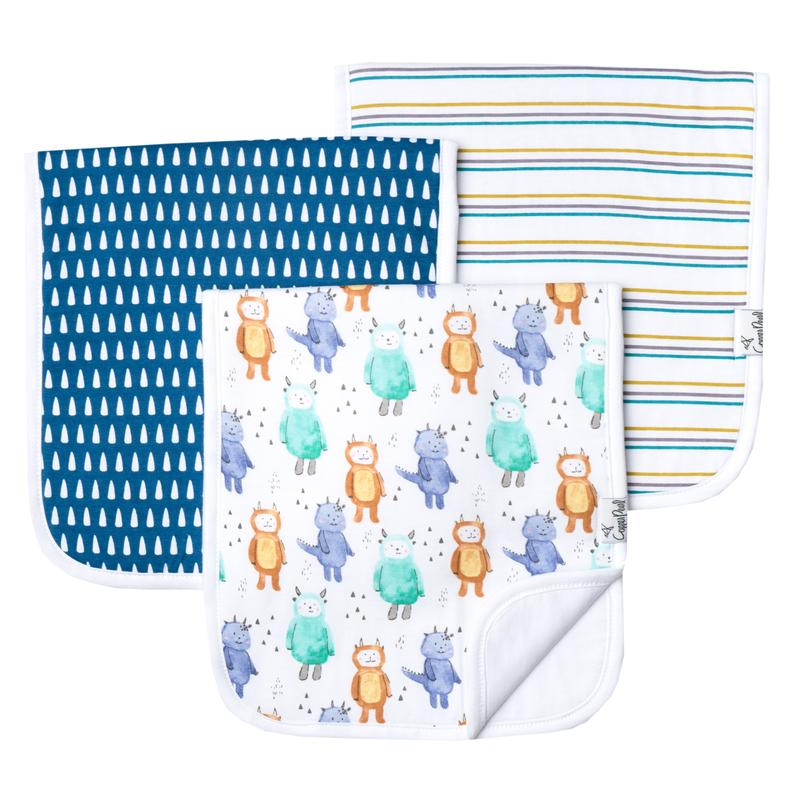 Copper Pearl Burp Cloth Set - Max
