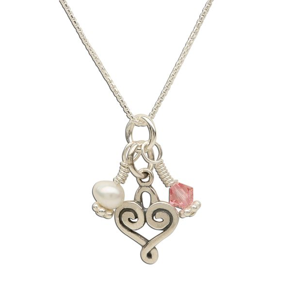Cherished Moments Sterling Silver Necklace