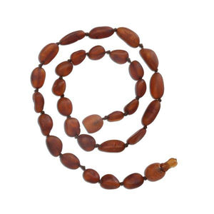 Cherished Moments Baltic Amber Necklace- Unpolished
