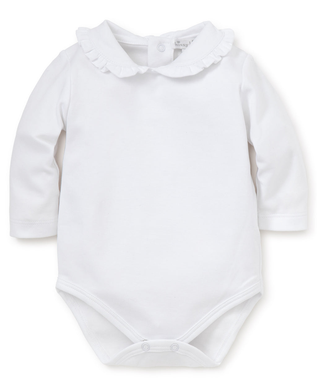 Kissy Kissy L/S Body w/Ruffle Collar