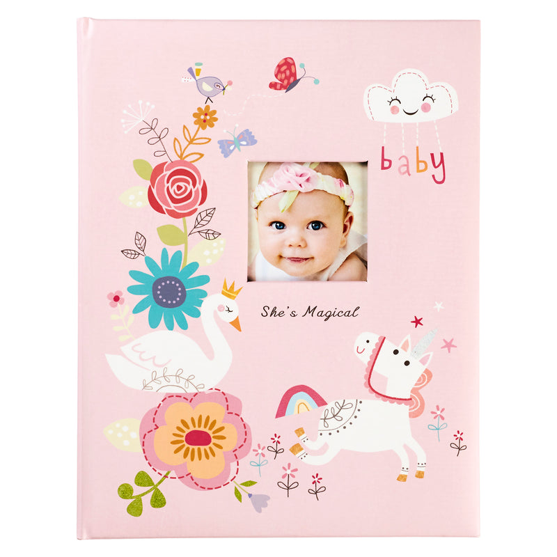 C.R Gibson Baby Memory Book - She's Magical