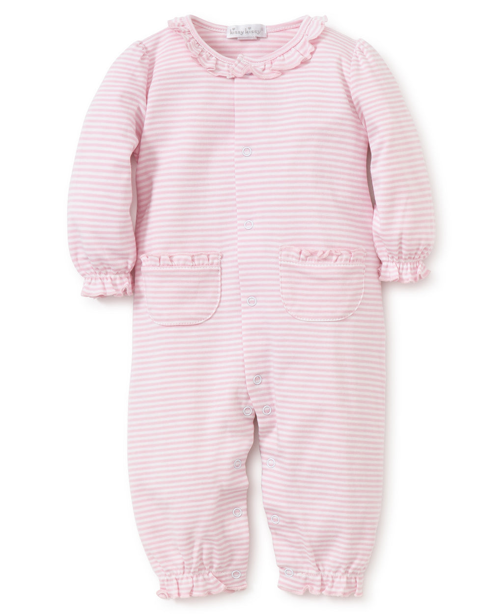 Kissy Kissy Girl's Simple Stripes Playsuit