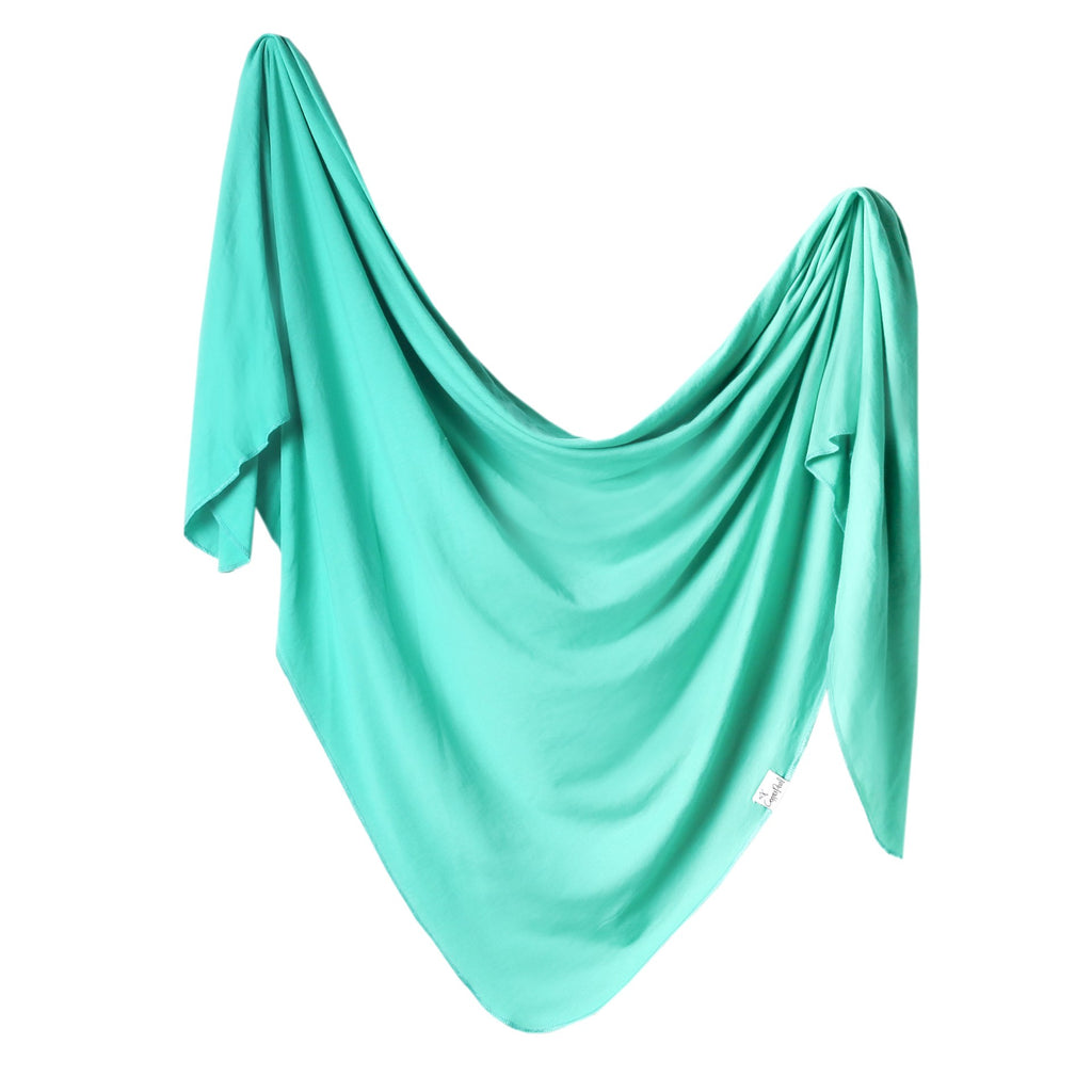 Copper Pearl Knit Swaddle Blanket - Spout
