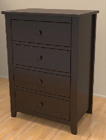 Baby's Dream Traditions 4-Drawer Chest