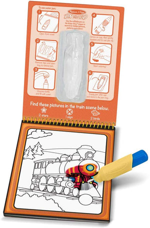 Melissa & Doug Vehicle Water Reveal Pad