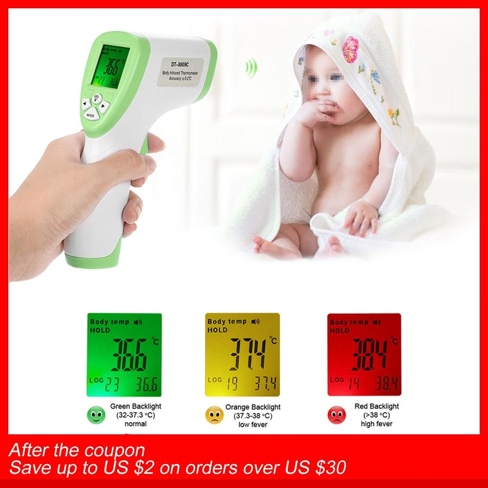 Digital handheld surface thermometer