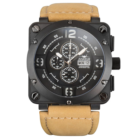 AVIATEUR MIDNIGHT FALCON (AVR-003-BLK-L)