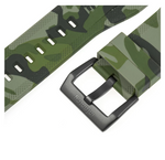 INFANTRY REVOLUTION GREEN CAMO 24MM SILICONE STRAP (WS-R-CAMOGRN-SET)