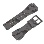 INFANTRY REVOLUTION GREY CAMO 24MM SILICONE STRAP (WS-R-CAMOGREY-SET)