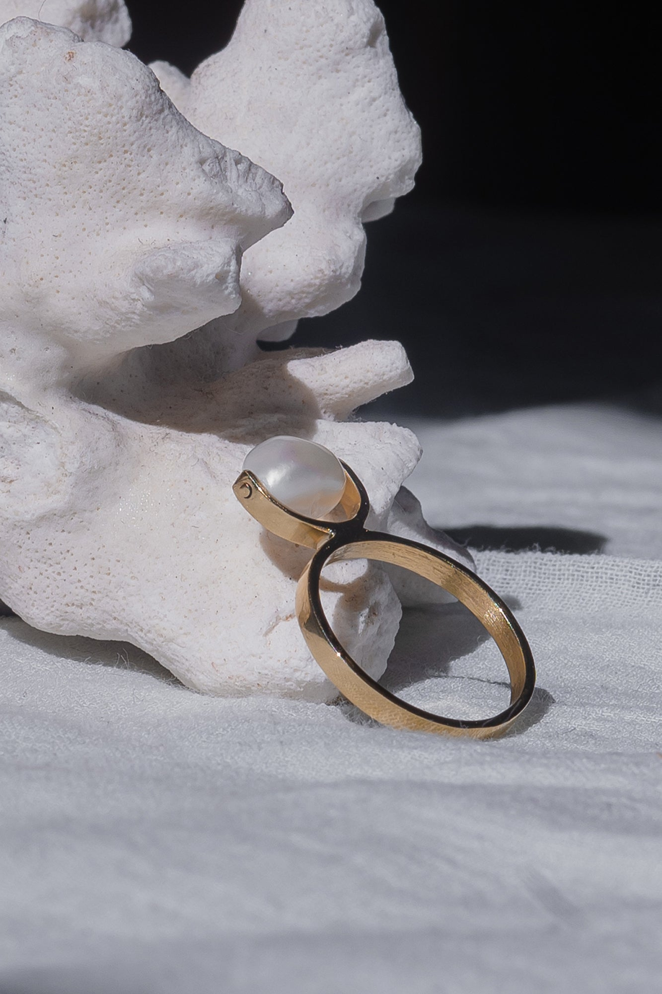 HANDCRAFTED RECYCLED GOLD RING