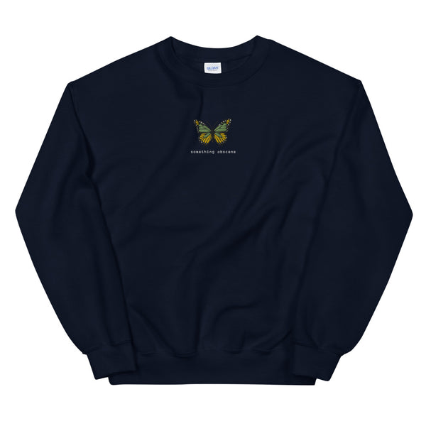 Butterfly Crewneck - Something Obscene