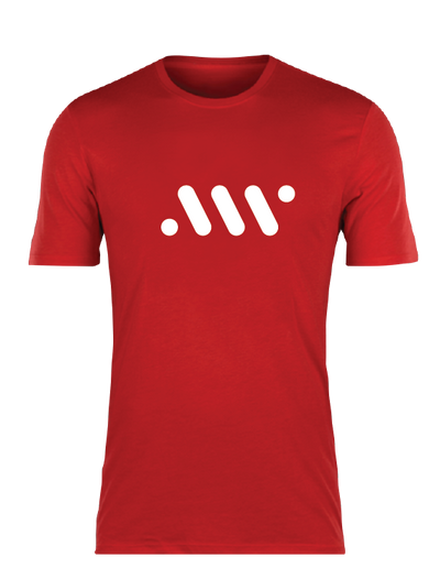 Red Nike Core Tee - A'ja Logo