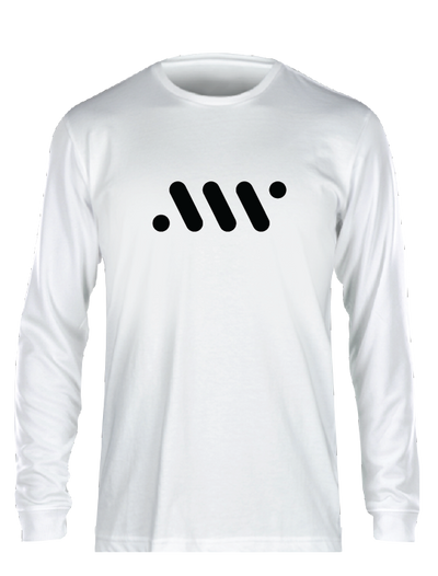 White Nike Core Long Sleeve - A'ja Logo