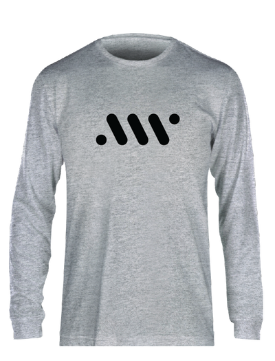 Grey Nike Core Long Sleeve - A'ja Logo