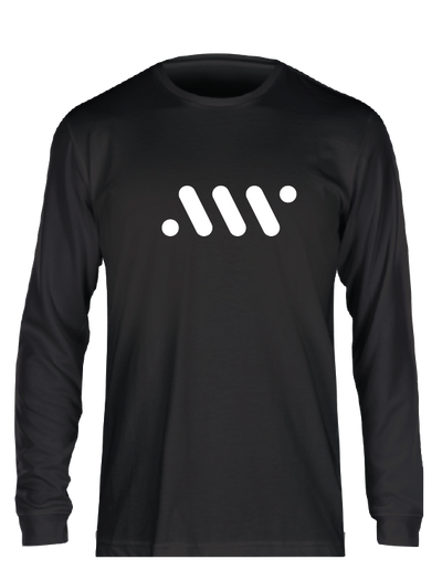 Black Nike Core Long Sleeve - A'ja Logo