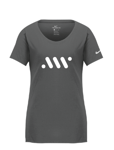 Graphite Ladies' Nike Core Tee - A'ja Logo