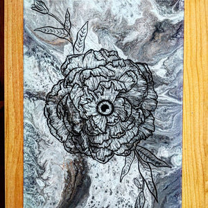 "Flower Eye 16"" x 20"" - DanCap Designs"