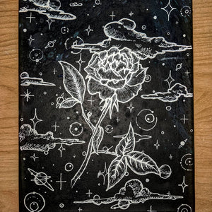 "Galaxy Flower 11"" x 14"" - DanCap Designs"